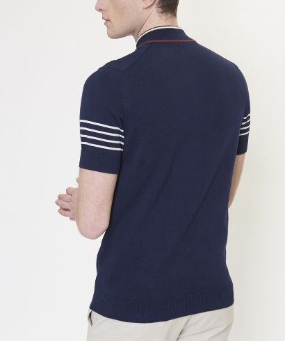 ben-sherman-zip-neck-polo-shirt-marine-3