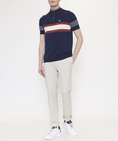ben-sherman-zip-neck-polo-shirt-marine-4