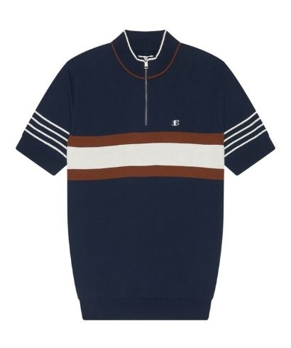 ben-sherman-zip-neck-polo-shirt-marine-5